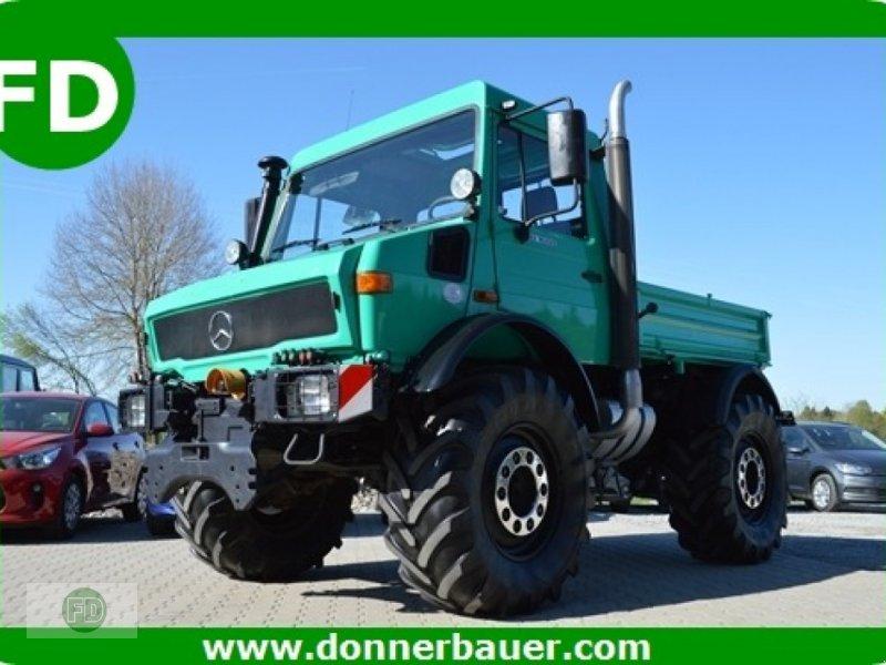 Grünlandtraktor типа Mercedes-Benz Unimog x MB Trac, An und Verkauf, Gebrauchtmaschine в Hinterschmiding (Фотография 1)