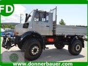Grünlandtraktor des Typs Unimog Unimog U2150, viele Extras, Gebrauchtmaschine in Hinterschmiding