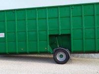Stapel Feldrandcontainer mit hydraulischem Fahrwerk/ Biogas Контейнер для навозной жижи