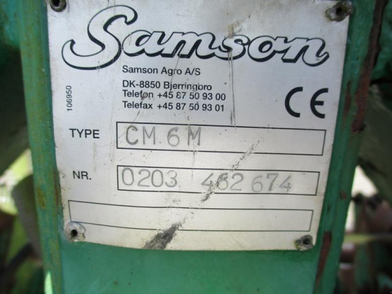 Gülleeinarbeitungstechnik типа Samson CM 6m, Gebrauchtmaschine в Østbirk (Фотография 6)