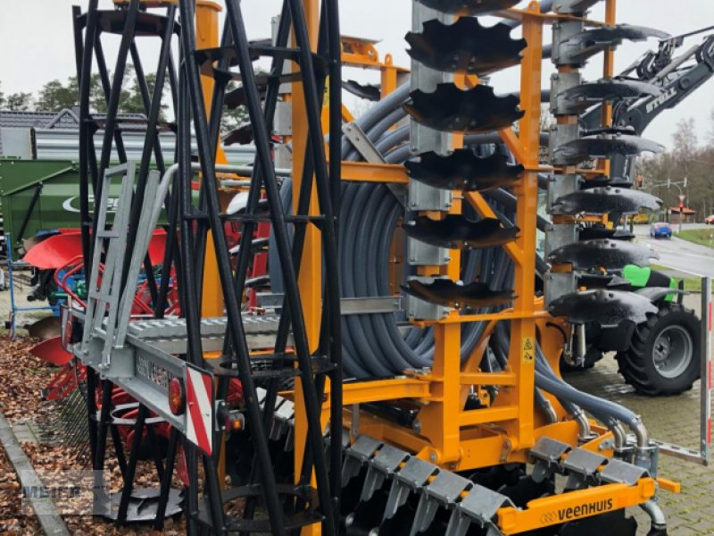 Güllescheibenegge des Typs Veenhuis Terraject Disc, Neumaschine in Delbrück (Bild 2)