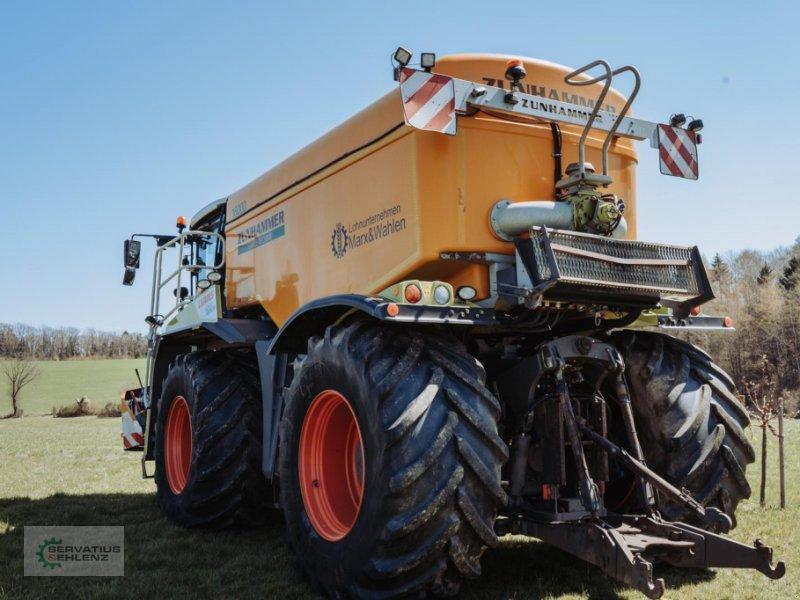 Gülleselbstfahrer des Typs CLAAS XERION 4000 SaddleTrac mit Zunhammer-Aufbau, Gebrauchtmaschine in Rittersdorf (Bild 4)