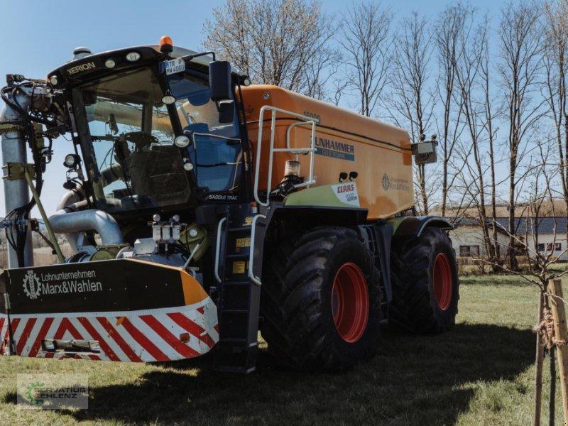 Gülleselbstfahrer des Typs CLAAS XERION 4000 SaddleTrac mit Zunhammer-Aufbau, Gebrauchtmaschine in Rittersdorf (Bild 2)