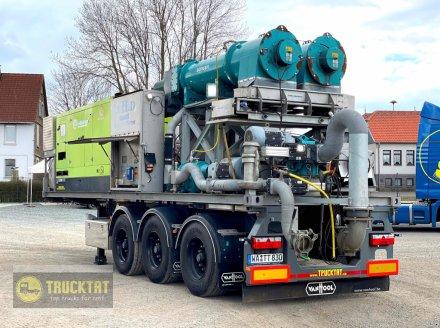 Börger Gülleseparator BÖRGER 2x RC 150 HP auf Wechselbrücke 30 Fuss, 1-A Zustand, sofort einsatzbereit Сепаратор для навозной жижи