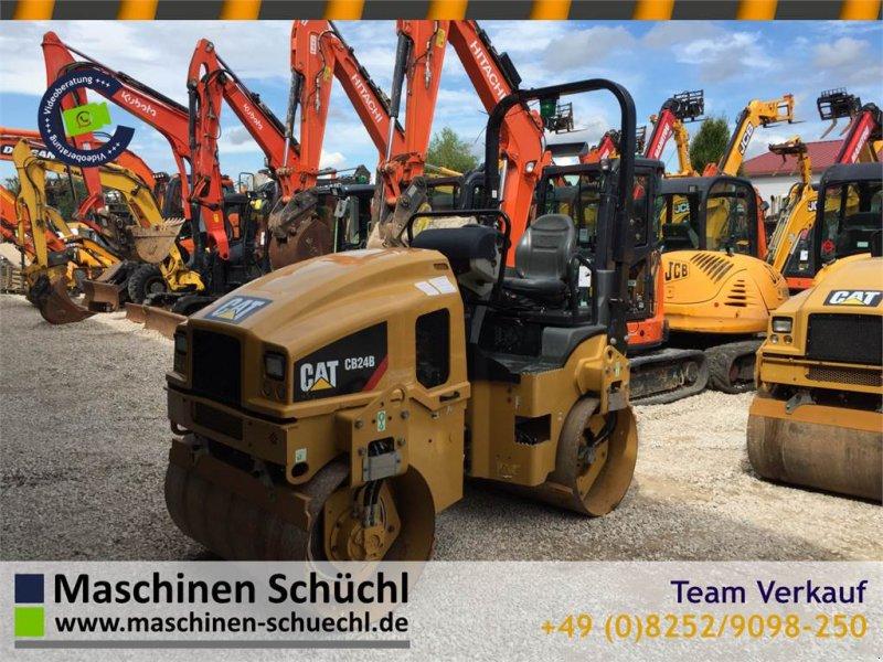 Gummiradwalze typu Caterpillar CB24B Tandemwalze Neuwertig CE, Gebrauchtmaschine w Schrobenhausen (Zdjęcie 1)