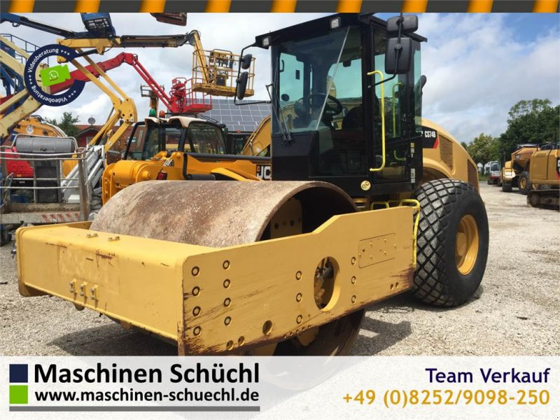 Gummiradwalze typu Caterpillar CS 74B Walzenzug 16to CE + EPA Neuwertig, Gebrauchtmaschine w Schrobenhausen (Zdjęcie 1)