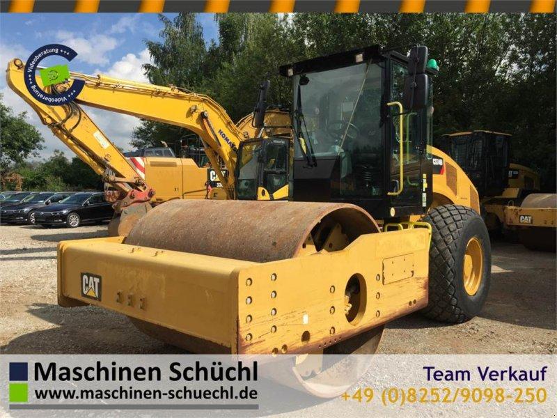 Gummiradwalze typu Caterpillar CS 74B Walzenzug 16to CE + EPA TOP, Gebrauchtmaschine w Schrobenhausen (Zdjęcie 1)