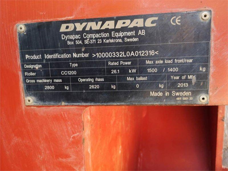 Gummiradwalze typu DYNAPAC CC1200 Tandemwalze TOP Zustand!!, Gebrauchtmaschine w Schrobenhausen (Zdjęcie 8)