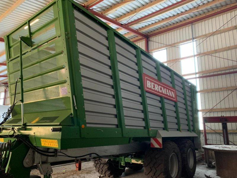 Häcksel Transportwagen tip Bergmann HTW 40 S neuwertig!, Gebrauchtmaschine in Ostercappeln (Poză 1)