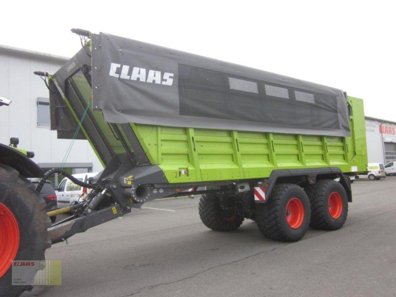 Häcksel Transportwagen des Typs CLAAS CARGOS 750 TREND mit Laderaumabdeckung, Gebrauchtmaschine in Molbergen (Bild 1)