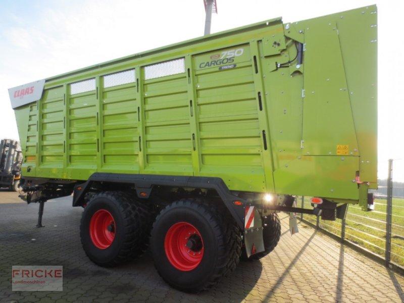 Häcksel Transportwagen des Typs CLAAS CARGOS 750 TREND, Gebrauchtmaschine in Bockel - Gyhum (Bild 1)