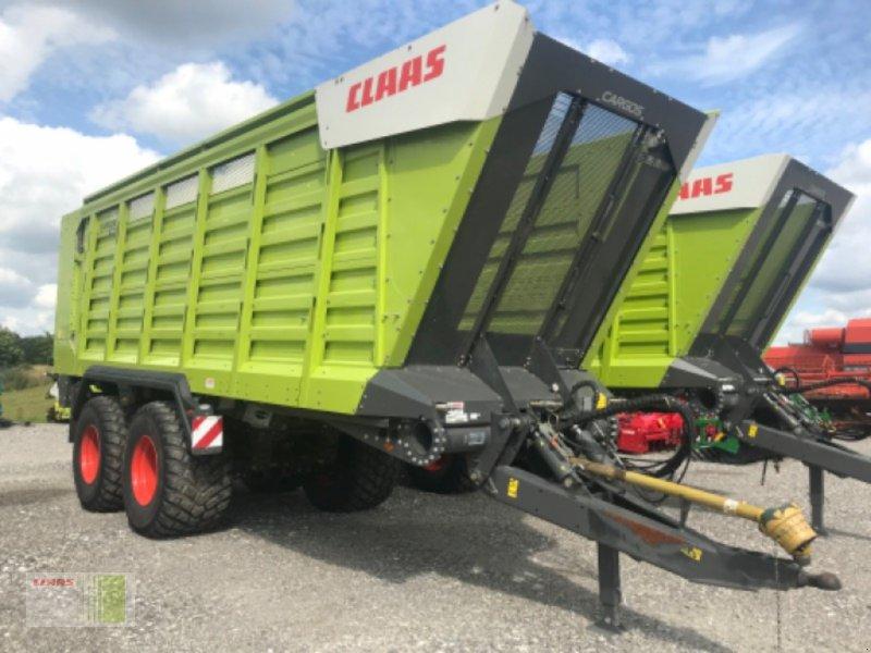 Häcksel Transportwagen des Typs CLAAS CARGOS 750 TREND, Vorführmaschine in Risum-Lindholm (Bild 1)