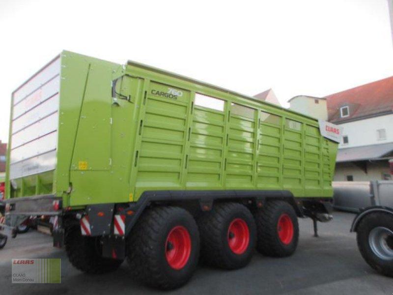 Häcksel Transportwagen des Typs CLAAS CARGOS 760 BUSINESS TRIDEM, Gebrauchtmaschine in Heilsbronn (Bild 1)
