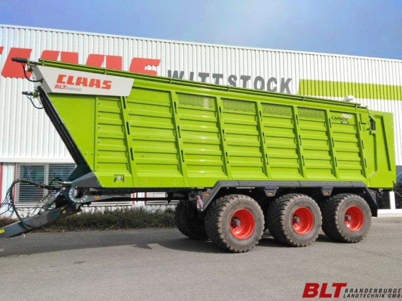 Häcksel Transportwagen tip CLAAS Cargos 760 Trend Tridem, Vorführmaschine in Heiligengrabe OT Liebenthal (Poză 1)
