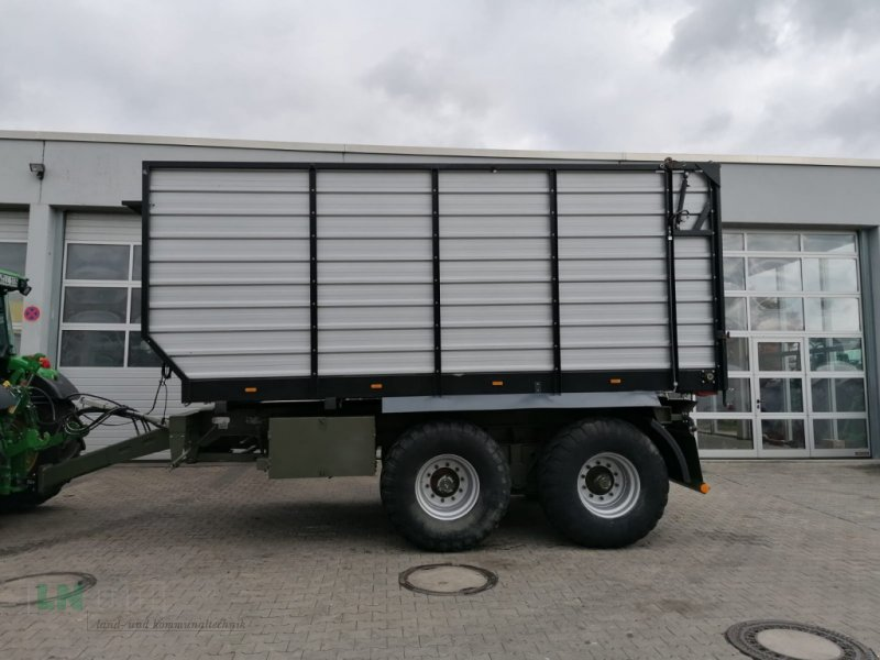 Häcksel Transportwagen des Typs Eigenbau Kratboden-Anhänger, Gebrauchtmaschine in Eggenfelden (Bild 1)