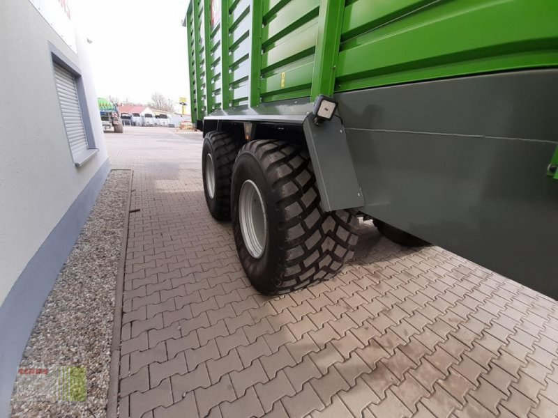 Häcksel Transportwagen des Typs Hawe SILAGETRANSPORTWAGEN, Gebrauchtmaschine in Aurach (Bild 10)