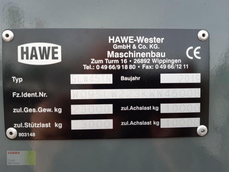 Häcksel Transportwagen des Typs Hawe SILAGETRANSPORTWAGEN, Gebrauchtmaschine in Aurach (Bild 19)