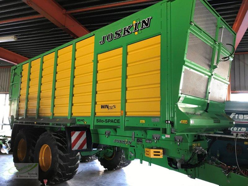 Häcksel Transportwagen des Typs Joskin Silospace 20/40, Gebrauchtmaschine in Neustadt (Bild 1)