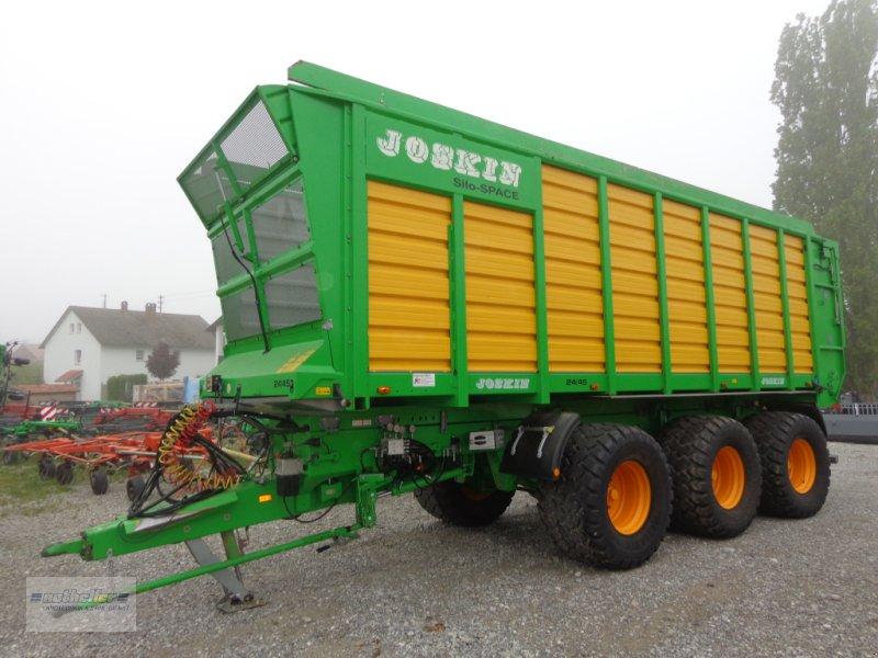 Häcksel Transportwagen des Typs Joskin Silospace 24/45, Gebrauchtmaschine in Pforzen (Bild 2)