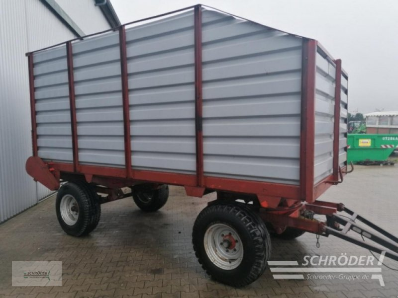 Häcksel Transportwagen des Typs Kaweco 8T, Gebrauchtmaschine in Wildeshausen (Bild 2)