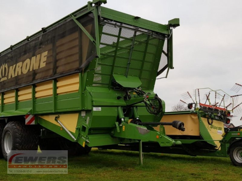 Häcksel Transportwagen des Typs Krone TX 460 GD, Vorführmaschine in Salzkotten (Bild 1)
