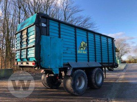 Häcksel Transportwagen des Typs Mengele SILOBULL 8000, Gebrauchtmaschine in Husum (Bild 3)