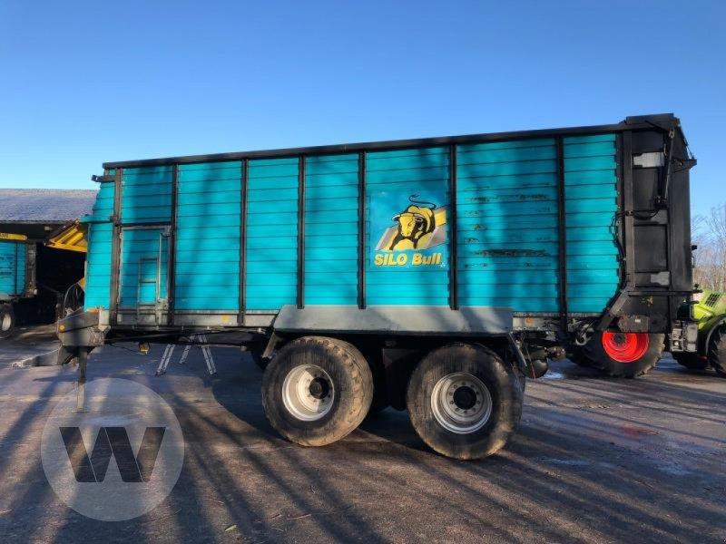 Häcksel Transportwagen des Typs Mengele SILOBULL 8000, Gebrauchtmaschine in Husum (Bild 1)