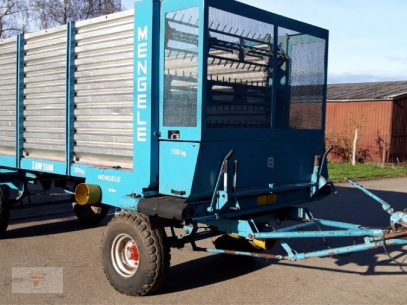 Häcksel Transportwagen des Typs Mengele ZAW 5500, Gebrauchtmaschine in Remchingen (Bild 1)