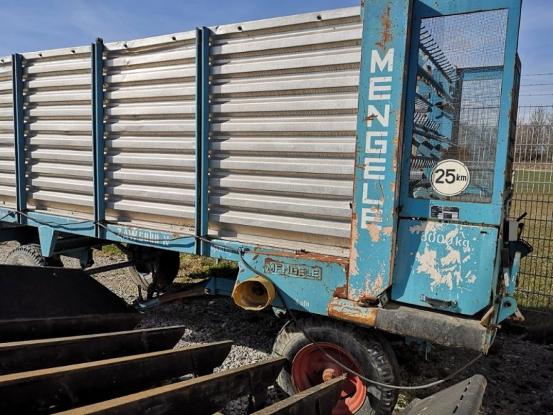 Häcksel Transportwagen tip Mengele ZAW 6000, Gebrauchtmaschine in Eitting (Poză 1)