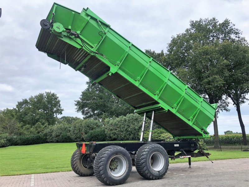 Häcksel Transportwagen a típus Record hooglosser, Gebrauchtmaschine ekkor: Vriezenveen (Kép 1)