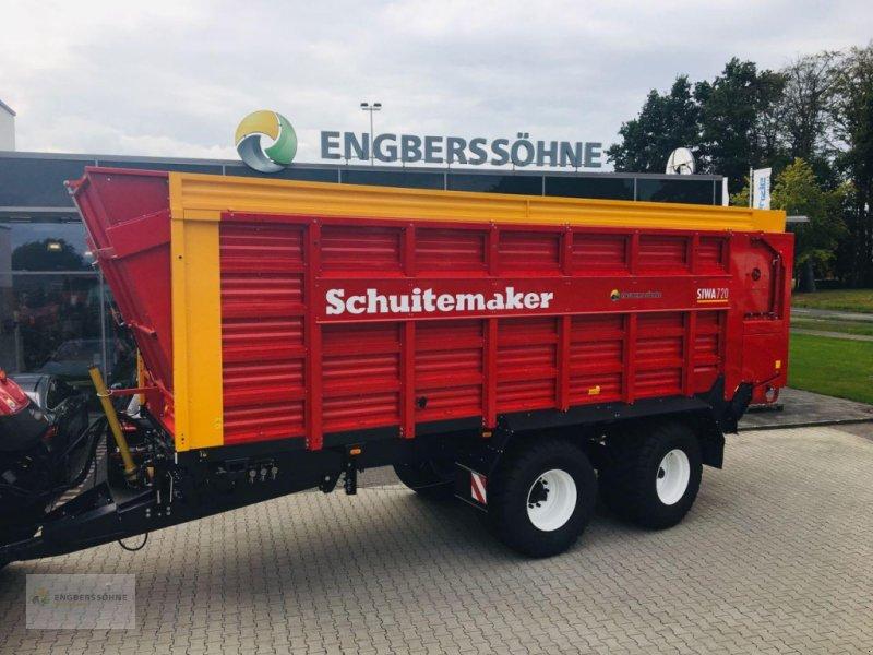 Häcksel Transportwagen des Typs Schuitemaker Siwa 720 W  Zwangsl., Neumaschine in Uelsen (Bild 1)