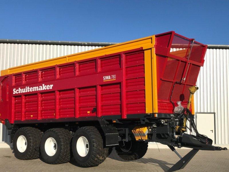 Häcksel Transportwagen des Typs Schuitemaker Siwa 780 W, Neumaschine in Emsbüren (Bild 1)