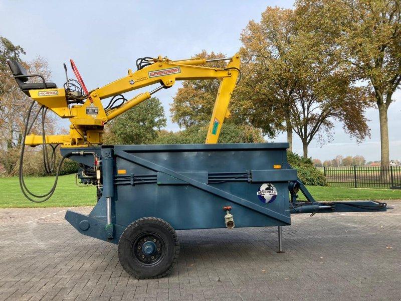 Häcksel Transportwagen tipa Sonstige Baggerbak met Kraan, Gebrauchtmaschine u Vriezenveen (Slika 1)