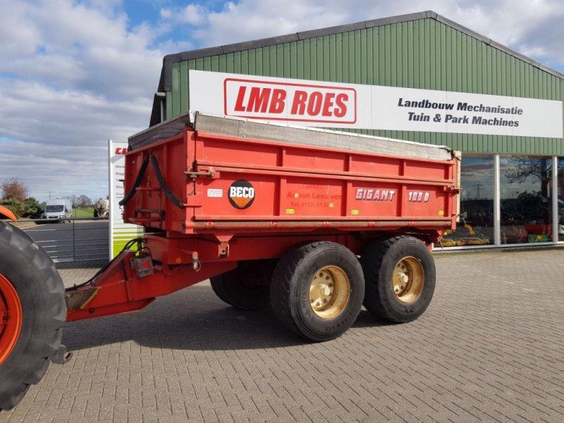 Häcksel Transportwagen типа Sonstige Beco Gigant 100 kipper, Gebrauchtmaschine в Zevenaar (Фотография 1)