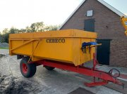 Sonstige Cebeco Kipper 8 tons Dumper veenhuis Remolque de carga con cortadora