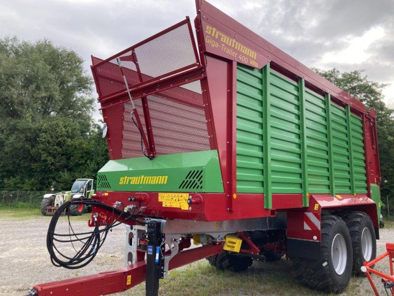 Häcksel Transportwagen des Typs Strautmann Giga-Trailer 400, Neumaschine in Ravensburg (Bild 1)