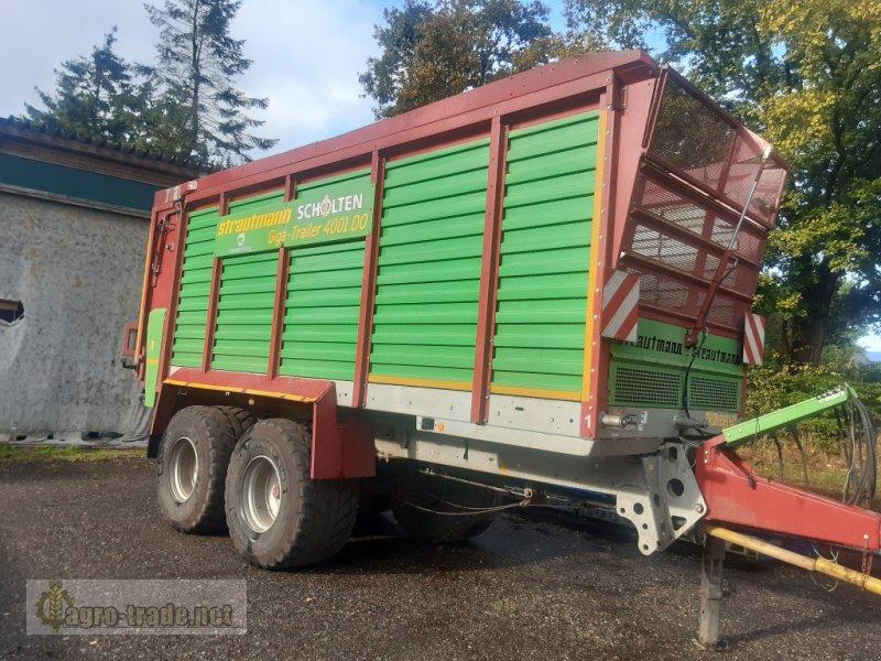 Häcksel Transportwagen des Typs Strautmann Giga-Trailer 4001 DO, Gebrauchtmaschine in Ellerdorf (Bild 1)
