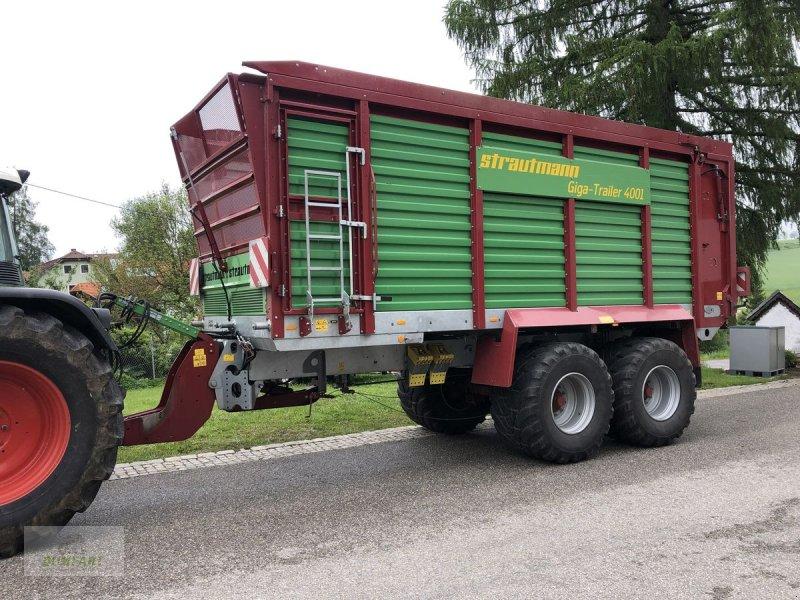 Häcksel Transportwagen типа Strautmann Giga Trailer 4001, Gebrauchtmaschine в Bad Leonfelden (Фотография 1)