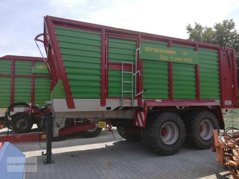 Häcksel Transportwagen des Typs Strautmann Gigatrailer 4002, Gebrauchtmaschine in Auerbach (Bild 1)