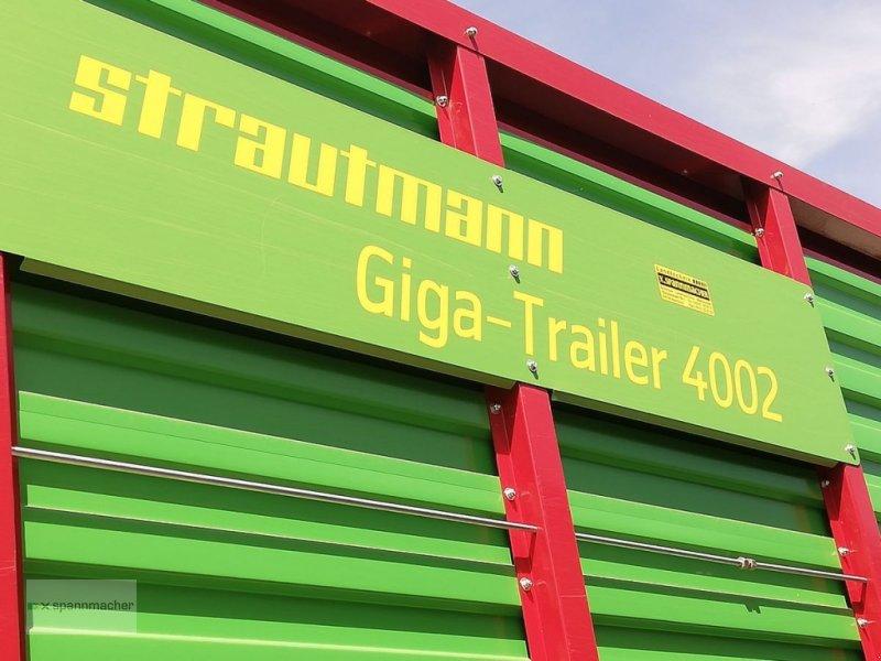 Häcksel Transportwagen des Typs Strautmann Gigatrailer 4002, Gebrauchtmaschine in Auerbach (Bild 7)