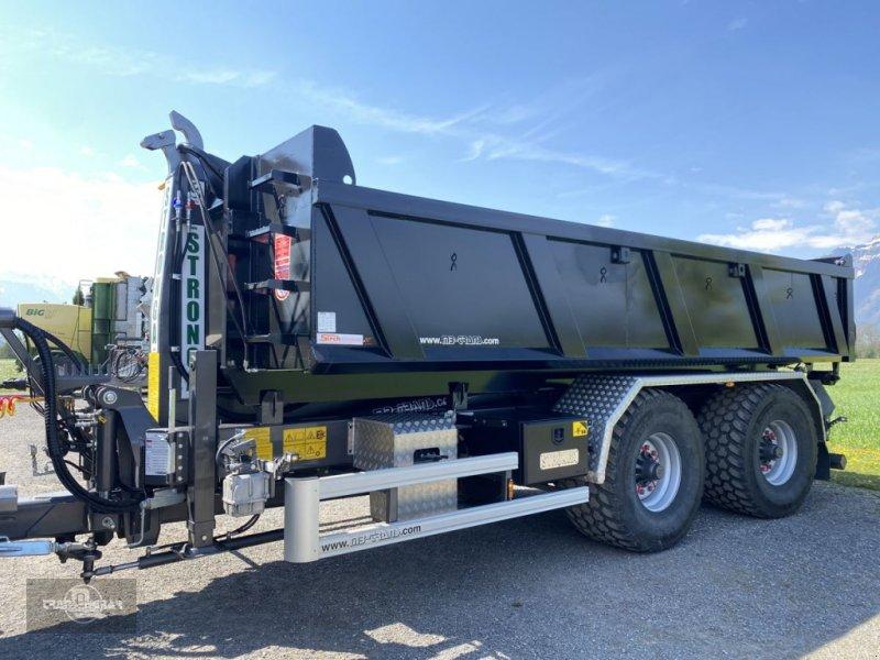 Hakenwagen des Typs Stronga HL 210 DT mit Mulde ! Black Edition! Hakenlift, Gebrauchtmaschine in Rankweil (Bild 1)