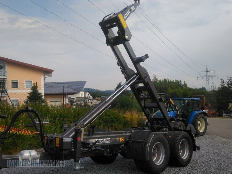 Hakenwagen des Typs Stronga HL140, Neumaschine in Gotteszell (Bild 1)