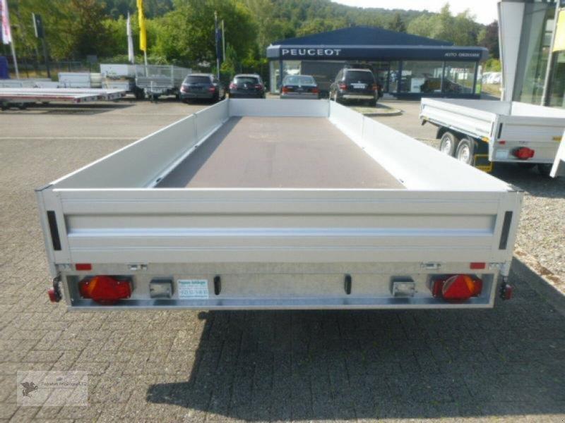 Heckcontainer des Typs Humbaur HD 357121, 3-Achser, 3,5to, Drehschemelanhänger, Neumaschine in Gevelsberg (Bild 8)