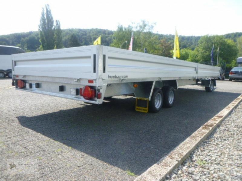 Heckcontainer des Typs Humbaur HD 357121, 3-Achser, 3,5to, Drehschemelanhänger, Neumaschine in Gevelsberg (Bild 9)