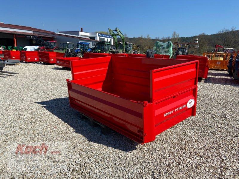 Heckcontainer a típus Krpan PT 180/100 hydr., Neumaschine ekkor: Neumarkt / Pölling (Kép 1)