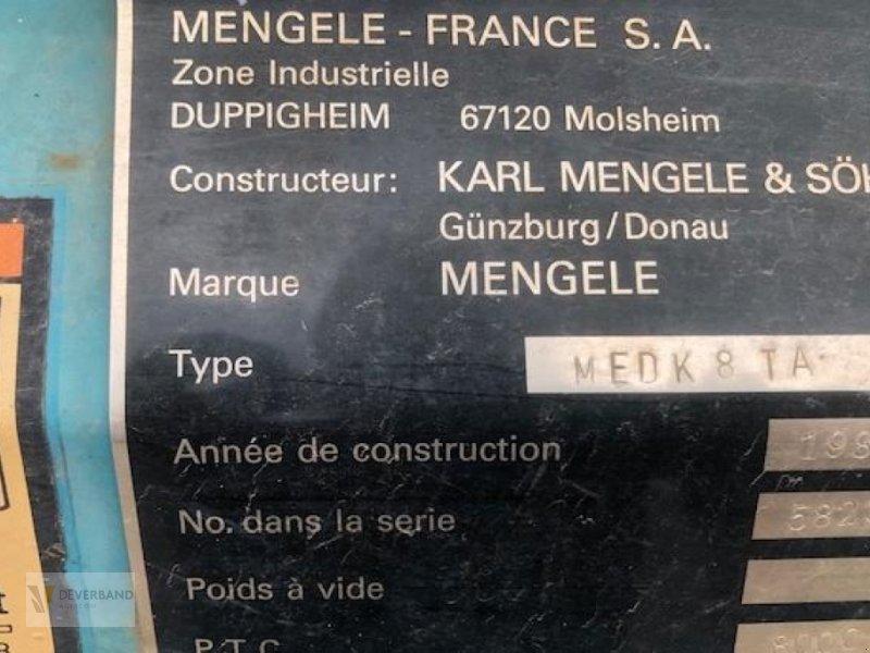 Heckcontainer типа Mengele MEDK 8TA, Gebrauchtmaschine в Colmar-Berg (Фотография 3)