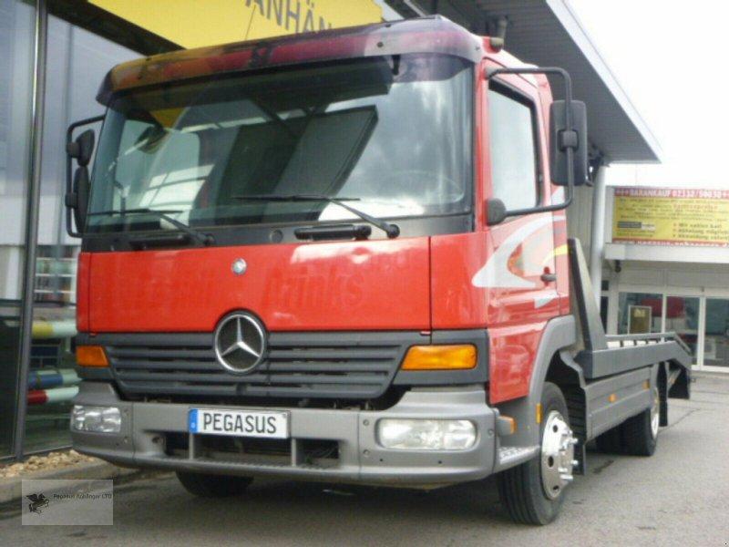 Heckcontainer типа Mercedes-Benz Atego 818 Abschleppwagen, Gebrauchtmaschine в Gevelsberg (Фотография 1)