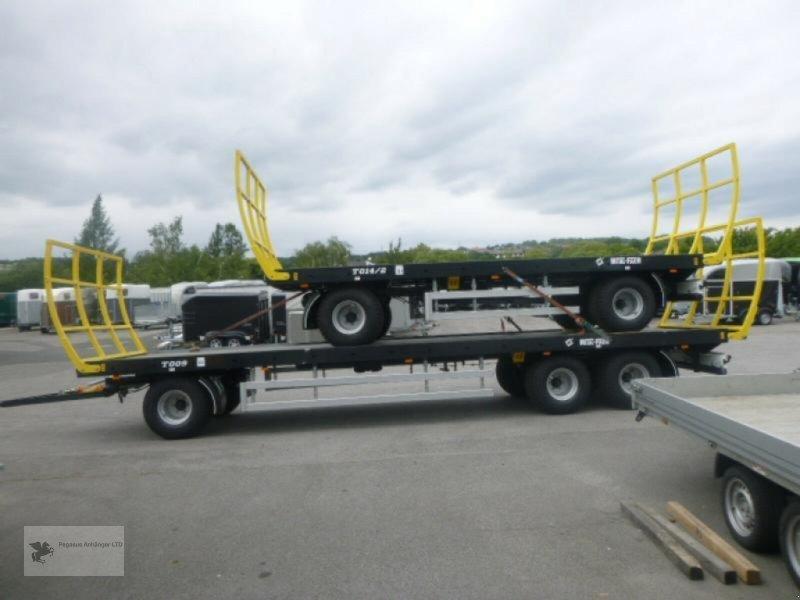 Heckcontainer типа Metal-Fach Ballenwagen T014/2 2-Achser, Neumaschine в Gevelsberg (Фотография 5)