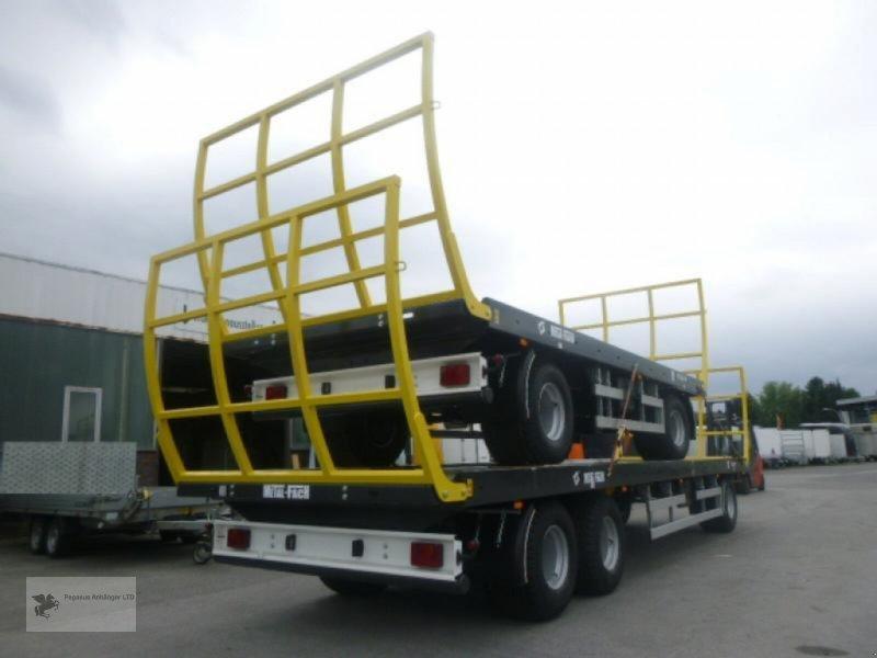 Heckcontainer des Typs Metal-Fach Ballenwagen T014/2 2-Achser, Neumaschine in Gevelsberg (Bild 7)