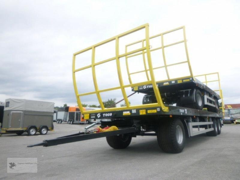 Heckcontainer des Typs Metal-Fach Ballenwagen T014/2 2-Achser, Neumaschine in Gevelsberg (Bild 4)